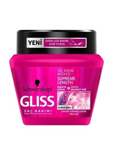 Gliss Glıss Saç Maskesi Supreme Length 300 Ml Renksiz